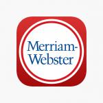 Merriam Webster app