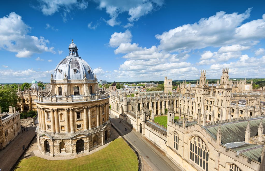 All Souls College in Oxford, UK